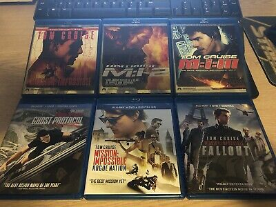 Mission: Impossible 6-Movie Collection on Blu-ray / Tom Cruise