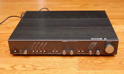 Tanberg 3008A Preamplifier Tested Works Great Excellent Condition *Please Read*
