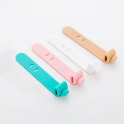 Silicone Straps Anti-Lost Headphones Storage Straps Soft Tape Data Cable SD