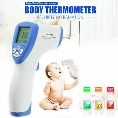 IR Infrared Digital Forehead Fever Thermometer Non-Contact Baby Adult Child New