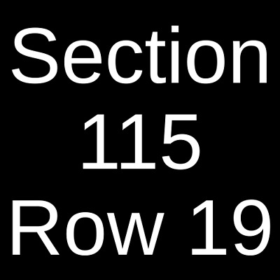 3 Tickets Kane Brown, Chris Lane & Russell Dickerson 5/1/20 Lubbock, TX