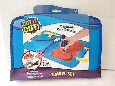 Cut It Out! Travel Set - Magically Cuts and Colors - CUT, COLOR, CREATE