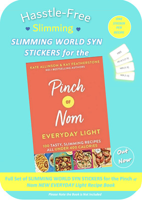 💕NEW Pinch of Nom EVERYDAY LIGHT Slimming World Syn Stickers💕