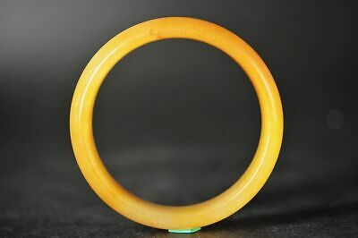Excellent Chinese Natural Huanglong Jade Beautiful Bracelet Bangle A3