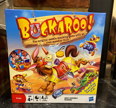 Buckaroo By Hasbro Gaming Classic Kids Game Bucking Mule Games Toys Toy Family