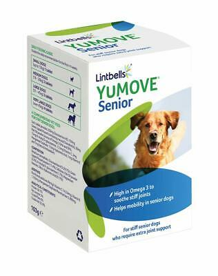 Lintbells Yumove Senior Dog Supplement Tablets 120/240 Joint Aids Stiff Mobility