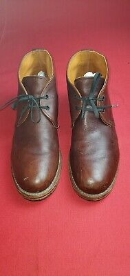 Mens Red Wing 9017 Chukka Cigar Featherstone Brown Leather Shoe Boot size 9