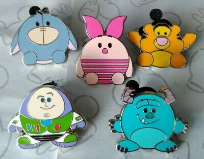 Round Shaped Characters Ufufy Magical Mystery Series 7 Set Choose a Disney Pin