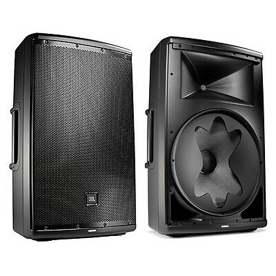 "JBL EON615 1000-Watt 15"" 2-Way Powered Speaker System Pair w/ Bluetooth Control"