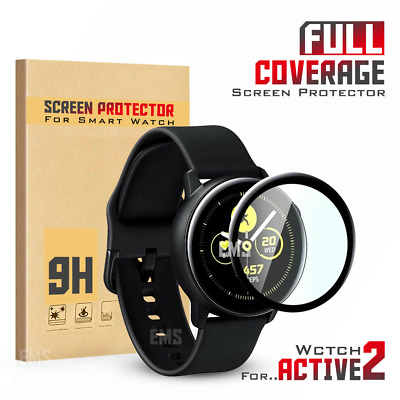 For Samsung Galaxy Watch Active 2 Full Coverage Tempered Glass Screen Protector