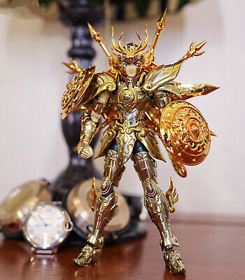 CS Model Saint Seiya Cloth Myth Soul of God SOG EX Gold Libra Dohko metal Cloth
