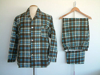 1960's PYJAMAS..PERMANENT PRESS..ROYAL CHOICE..XL..FLANNEL..NEW OLD STOCK