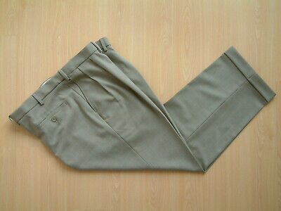 "1940's STYLE TROUSERS..42""..TWIN PLEATS..PERMANENT TURN-UP'S..HOPSACK..GOODWOOD"