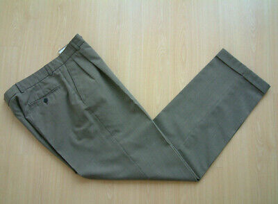 "1940's STYLE TROUSERS..32""..TWIN PLEATS..PERMANENT TURN-UP'S..SPORTS CHECK..PEGS"
