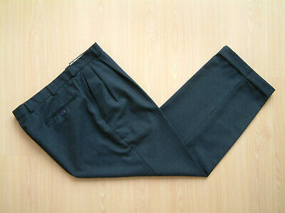 "1940's STYLE TROUSERS..36""..TWIN PLEATS..PERMANENT TURN-UP'S..FLECK..PEGS"