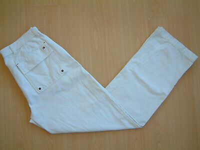 "TOMMY HILFIGER VINTAGE TROUSERS..34""..HEAVY COTTON / CANVAS..1990's..TOMMY"
