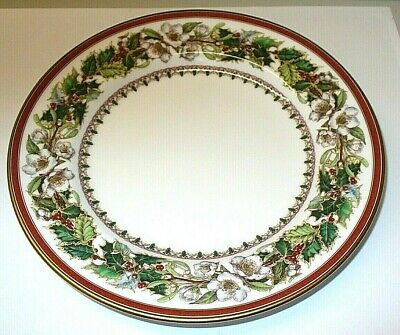 Spode Christmas Rose 6-Inch Bread and Butter Plate
