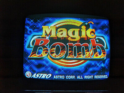 Magic Bomb by Astro 8 Liner CPU Circuit Board, PCB, Boardset, Working
