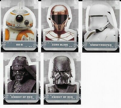 2019 Topps Star Wars The Rise of Skywalker Character Stickers S1 Pick