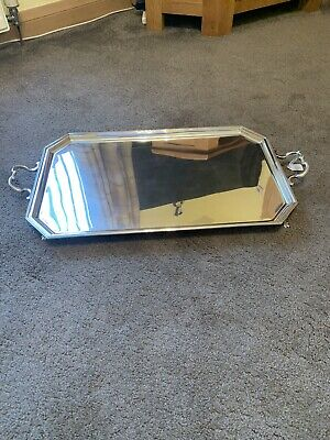 antique Solid silver Tray
