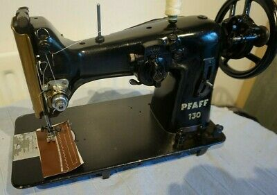 Pfaff Model 130-6 semi-Industrial Zig Zag Vintage Sewing Machine,