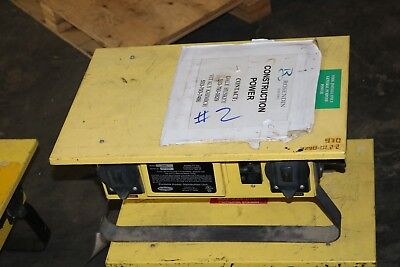 Hubbell TPDS Temporary Power Distribution Unit Free Shipping
