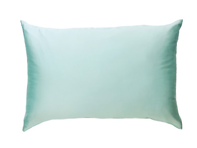 1x MINT GREEN 100% Mulberry Silk Both Sides Pillowcase 22 Momme Premium Quality