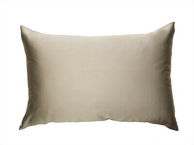1x LATTE BROWN 100% Mulberry Silk Both Sides Pillowcase 22 Momme Premium Quality