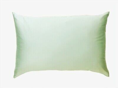 100% Premium Mulberry Both Sides Silk Pillowcase 1 X APPLE GREE 22 Momme RRP $80