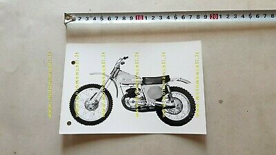 "Montesa 250 Cappra GP /""Cappra 250 Five/"" Decal p//n 4320.061 NOS 43M 1969"