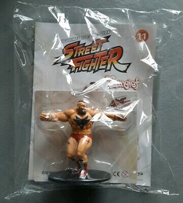 Figurine ZANGIEF STREET FIGHTER - Collection Altaya - Capcom - Neuf sous blister