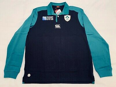 """IRLANDA"" CAMISETA AWAY CLASSIC SHIRT CANTERBURY Rugby World Cup 2015 - size M."