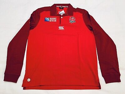 """INGLATERRA"" CAMISETA CLASSIC SHIRT CANTERBURY Rugby World Cup 2015 -- size: M."