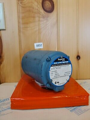 SUPERIOR ELECTRIC 1-PHASE 120VAC SLO-SYN SYNCHRONOUS MOTOR SS451-1032