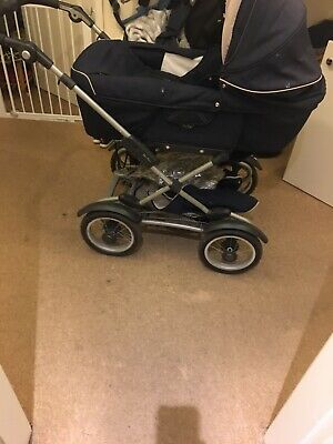 Broderie Anglaise Pushchair Seat Liner Compatible with Bugaboo