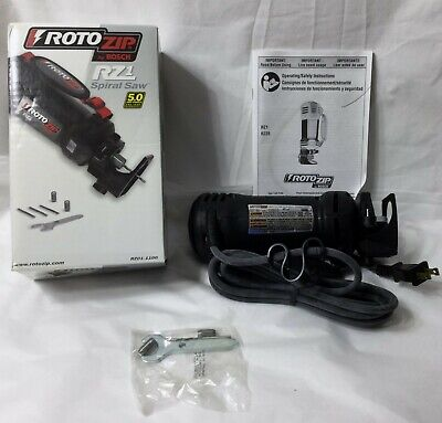 Roto Zip Drywall Router Cutout Tool  Rz1-1100  Spiral Saw Power Tool Bosch