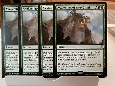 Khalni Heart Expedition FOIL Zendikar NM-M Green Common MAGIC MTG CARD ABUGames