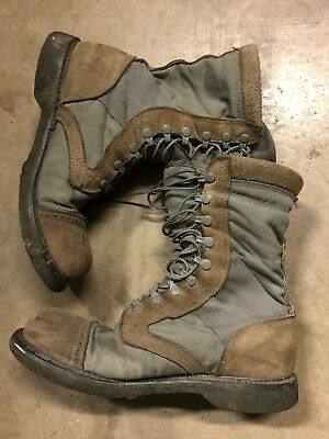 Corcoran Marauder 10 inch Sage Green & Tan Suede Size 10 D Military Boots