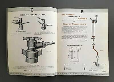 Vintage Beverage Dispensing Equipment Catalog - Hedeman Products Inc.