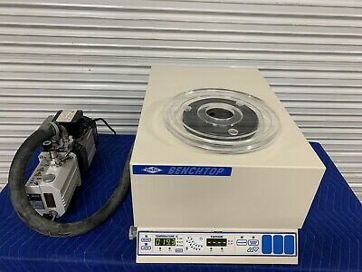 VirTis BT 3.3 ES Benchtop Vacuum Freeze Dryer 375924 w/ Trivac D2.5E Pump