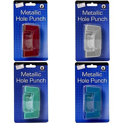 Just Stationery Metallic 2 Hole Punch (SG11061)