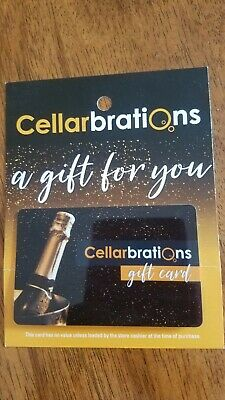 $100 Cellarbrations Gift Card