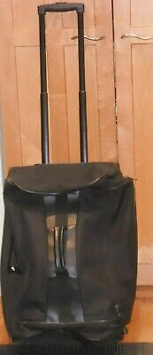 ORVIS  Rolling Duffle Luggage Travel Canvas bag