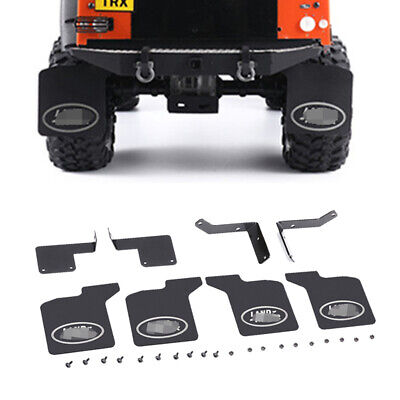 Rubber Quarters Rear Fender Mud Flaps For 1//10 RC Crawler Traxxas TRX-4 D110