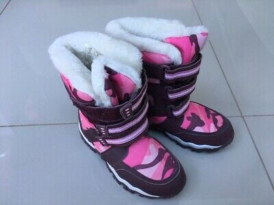 ALPINE GIRL'S/CHILD'S SNOW BOOT - SIZE 11 - Fleece Insulated