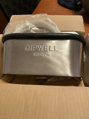 Dipwell 10 In Stainless Steel Used