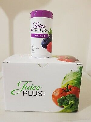 30x Juice Plus Berry Capsules For Skin, Hair, Nails And Healthier Lifestyle