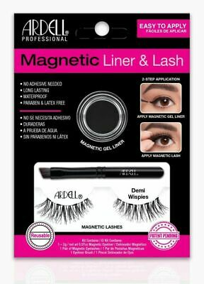 Ardell Magnetic Liner & Lash Kit, Demi Wispies