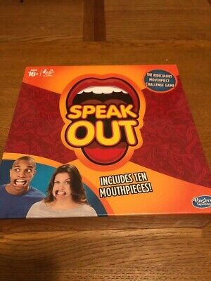 speak out board game Brand New Sealed