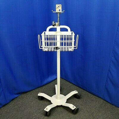 Medical Monitor Mobile Stand Roll Cart